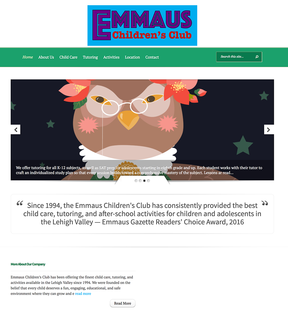 Concept site: Emmaus Children's Club